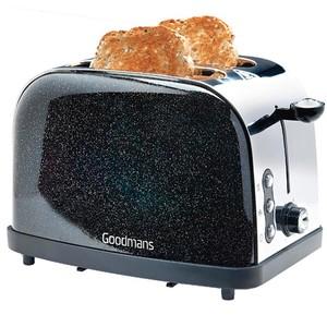 Toaster Diamant Edition schwarzglitzer von Goodmans