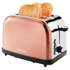 Toaster Diamant Edition kupferfarben von Goodmans