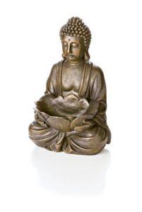 """Dekofigur """"Buddha"""" mit Schale"""