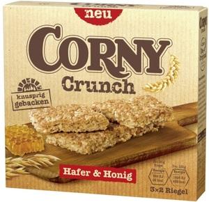 Corny Crunch Hafer & Honig Riegel 6x 20 g