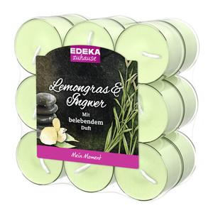 EDEKA zuhause Duftlichte Lemongras & Ingwer 18 Stk