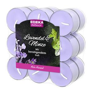 EDEKA zuhause Duftlichte Lavendel & Minze 18 Stk
