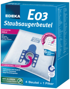 EDEKA Staubsaugerbeutel E03 1 Stk