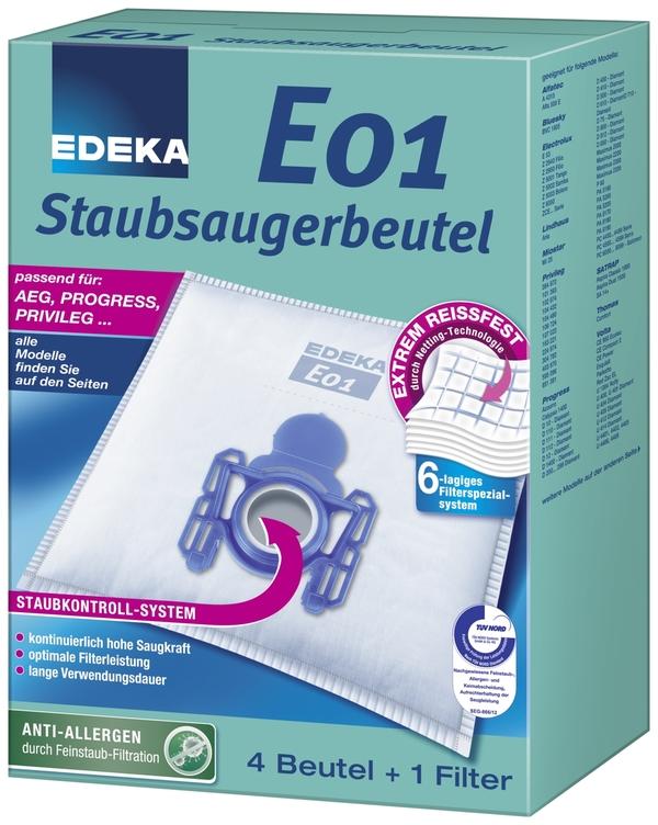 EDEKA Staubsaugerbeutel E01 1 Stk