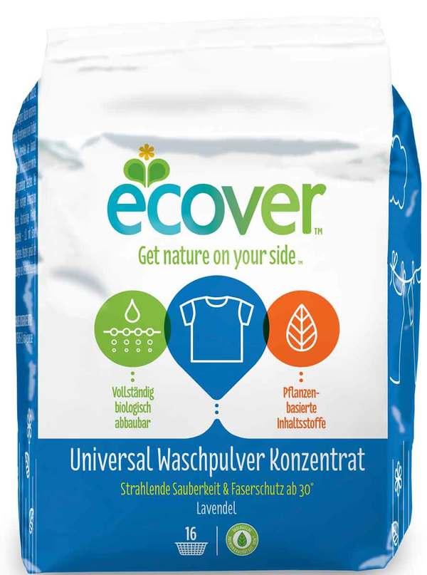 ECOVER Universal Waschpulver Konzentrat 1,2 kg 16 WL