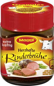 Maggi Granulés Herzhaft Rinderbrühe für 6 Liter 126 g