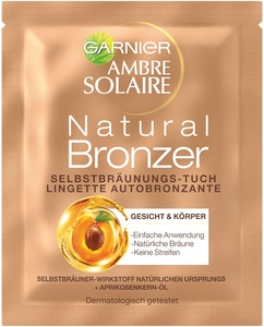 Ambre Solaire Natural Bronzer Selbstbräunungs-Tuch 1 Stk