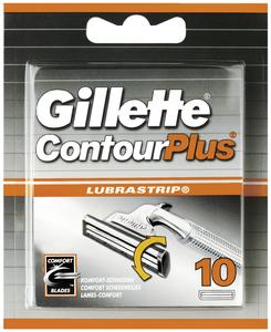 Gillette ContourPlus Ersatzklingen 10 Stück