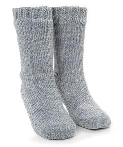 Hunkemöller Antirutsch-Socken Chenille Grau