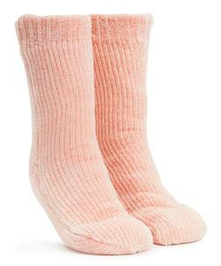 Hunkemöller Antirutsch-Socken Chenille Rosa