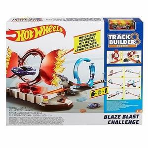 Hot Wheels - Track Builder 6-in-1 Blaze Blast Challenge