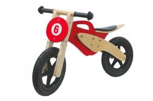 Jamara Holz-Laufrad Moto rot