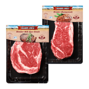 TRADER JOE'S  	   Rumpsteak / Rib-Eye-Steak