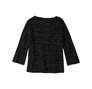 Laura Torelli COLLECTION Damen-Pullover mit hübschen Glitzerfäden