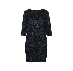 Laura Torelli plus (Gr. 44-58) Damen-Kleid mit schickem Muster, große Größen