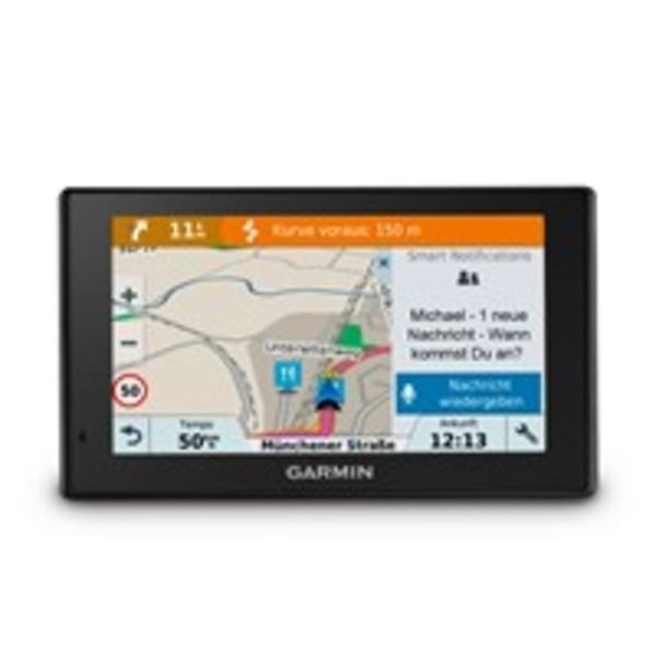 Garmin DriveSmart™ 5 MT-D ARD | EU Navigationsgerät inkl. Sicherheitspaket, DAB+ der ARD, WLAN Update Funktion, Bluetooth und Kartenupdates für Europa (46 Länder)