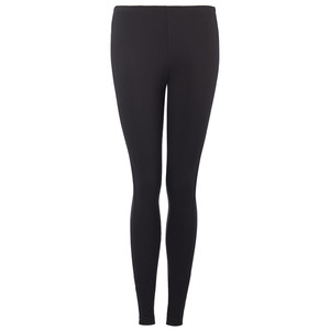 Damen Leggings mit Glitzerstreifen