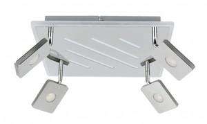 TrendLine LED Deckenleuchte Concord ,  chrom, mit Dekolicht