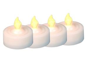 TrendLine LED-Teelichte ,  Batteriebetrieb, 4er- Set
