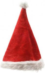 Weihnachtsmannmütze ,  Länge: 44 cm