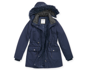 Blue Motion Parka