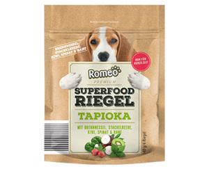 Romeo Premium Superfood-Riegel Tapioka