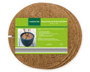 GARDENLINE®  Winterschutz-Kokosscheiben