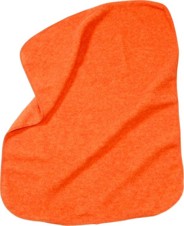 ALANA Baby-Decke, in Bio-Schurwolle und Bio-Baumwolle, 75x100 cm, orange, für Mädchen und Jungen