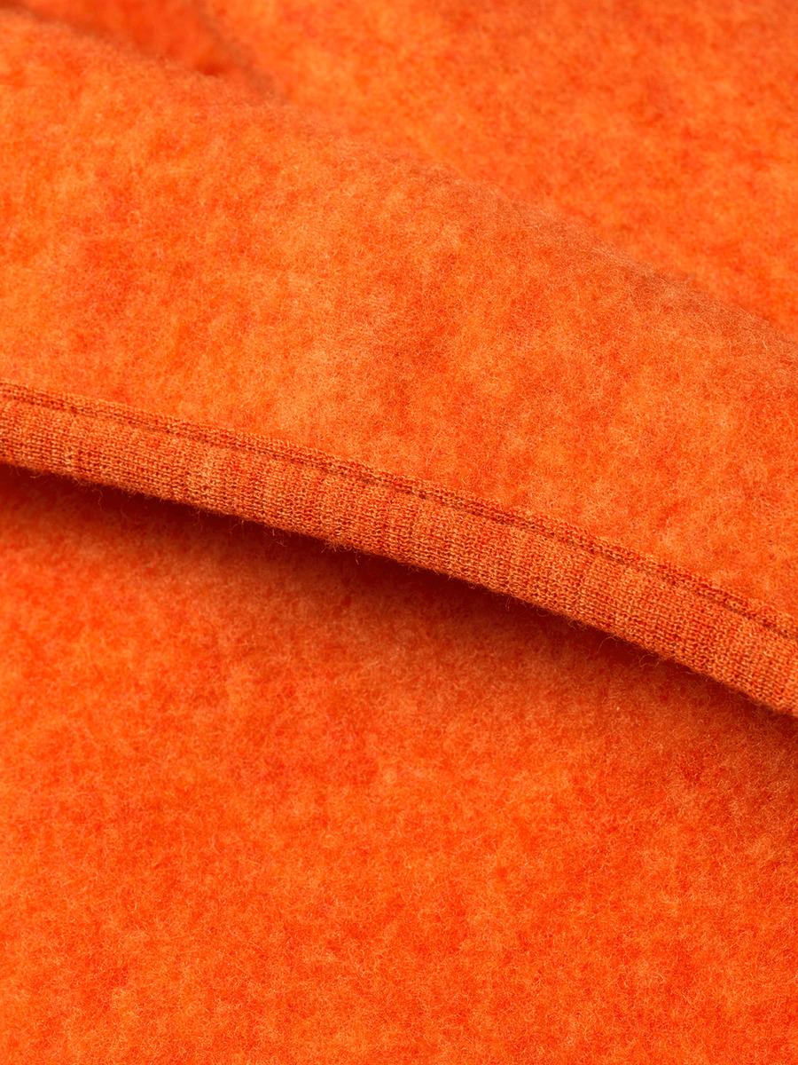 Bild 2 von ALANA Baby-Decke, in Bio-Schurwolle und Bio-Baumwolle, 75x100 cm, orange, für Mädchen und Jungen