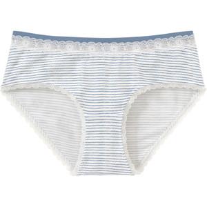 Damen Panty mit Streifen