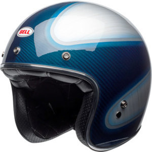 Bell Custom 500 carbon RSD candy/blue