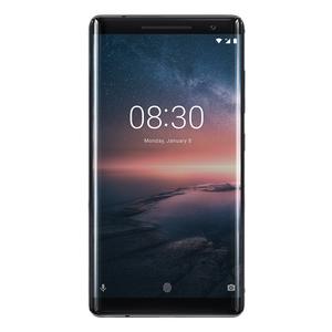 "Nokia 8 Sirocco 128GB Schwarz [13,5cm (5,3"") IPS Display, Android 7.1.1, 12+13MP Dual Hauptkamera]"