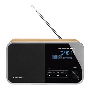Grundig DTR 4000 DAB+ BT - Oak [Digitalradio]