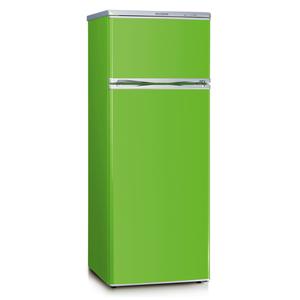 Severin KS 9796 Grün (Apple Green) Kühl-/Gefrierkombination, A++, 166/46 Liter, 144 cm