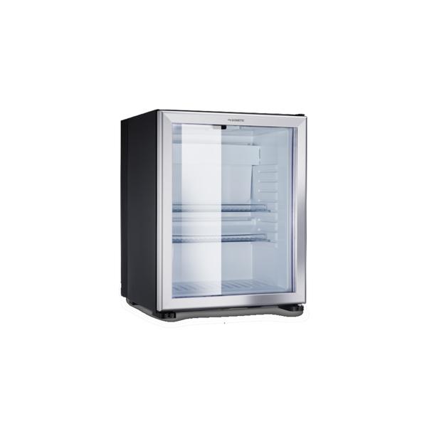 Dometic RH 449 LDAG Schwarz/Glastür Minibar-Kühlschrank, 33 Liter