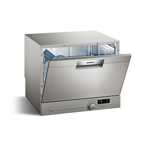 Siemens SK26E821EU Silber iQ300 Kompakt-Geschirrspüler, A+, 6 Maßgedecke