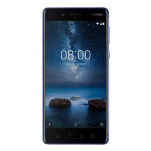 "Nokia 8 128GB Glossy-Blue [13,5cm (5,3"") IPS Display, Android 7.1.1, 13MP Hauptkamera]"