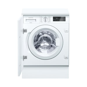 Siemens WI14W440 Weiß Einbau-Waschvollautomat, vollintegrierbar, A+++, 8kg, 1400 U/min