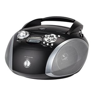 Grundig GRB 2000 USB - Schwarz/Silber [Radio mit CD-Player]