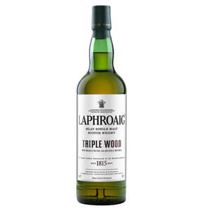 "Single Malt Scotch Whisky Triple Wood ""Laphroaig Islay"", 0,7l"