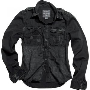 Surplus            1/1 Raw Vintage Shirt Slim Fit schwarz S