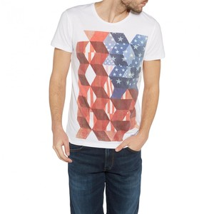 Wrangler            Flag T-Shirt white M