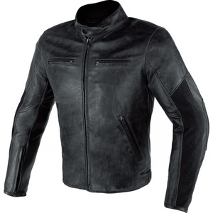 Dainese            Stripes D1 Leather Lederjacke schwarz 58