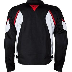 Dainese            Avro D2 Textiljacke schwarz/rot