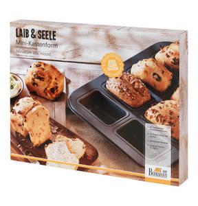 Birkmann             Mini- Kastenform, mit Antihaftbeschichtung, für kleine Brote und Kuchen