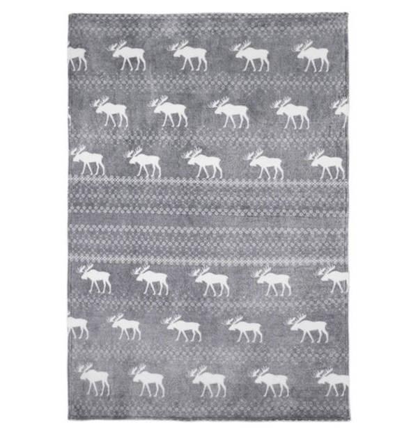 GALERIA SELECTION             Mikrofaser-Kuscheldecke, 100 % Polyester, hautsympathisch, pflegeleicht, 150 x 200 cm