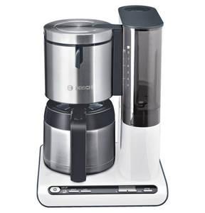 """Bosch        Thermo-Kaffeeautomat """"TKA865"""", 8/12 Tassen, mit Memory- und Uhrfunktion, Tropfstopp, Edelstahl-Thermokanne mit Durchbrühdeckel, 1.100 Watt"""