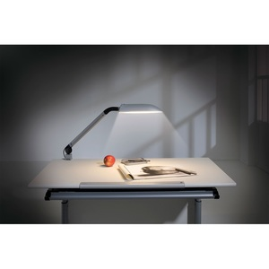 Schreibtischlampe SWING Silber