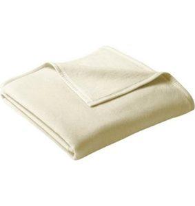 Wohndecke »Uno Cotton«, BIEDERLACK, mit Veloursband
