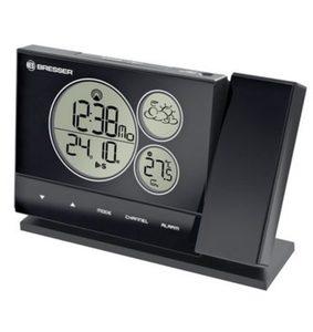 Bresser Wetterstation »BF-PRO Funkwetterstation mit Projektor, schwarz«